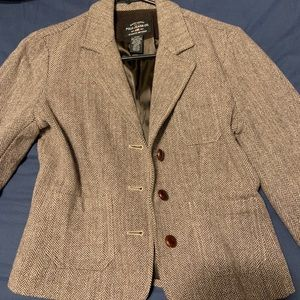 Polo  wool riding jacket w/ elbow patches